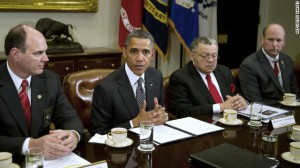 Obama Meets With Law Enforcement Officials