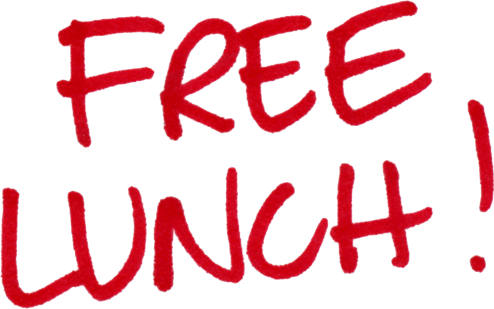 hurry free lunch right over here it�s free rockin