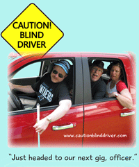 Caution! Blind Driver website