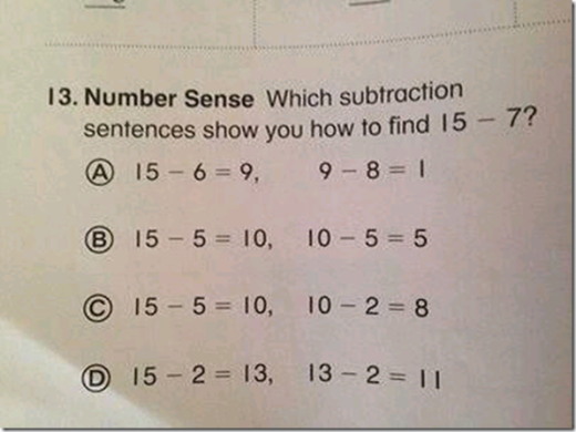 common core problem
